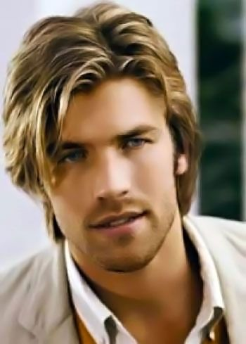 Long Mens Hairstyles Picture Number 26 From The Third Section Long Hair Styles Mens Hairstyles Fine Straight Hair