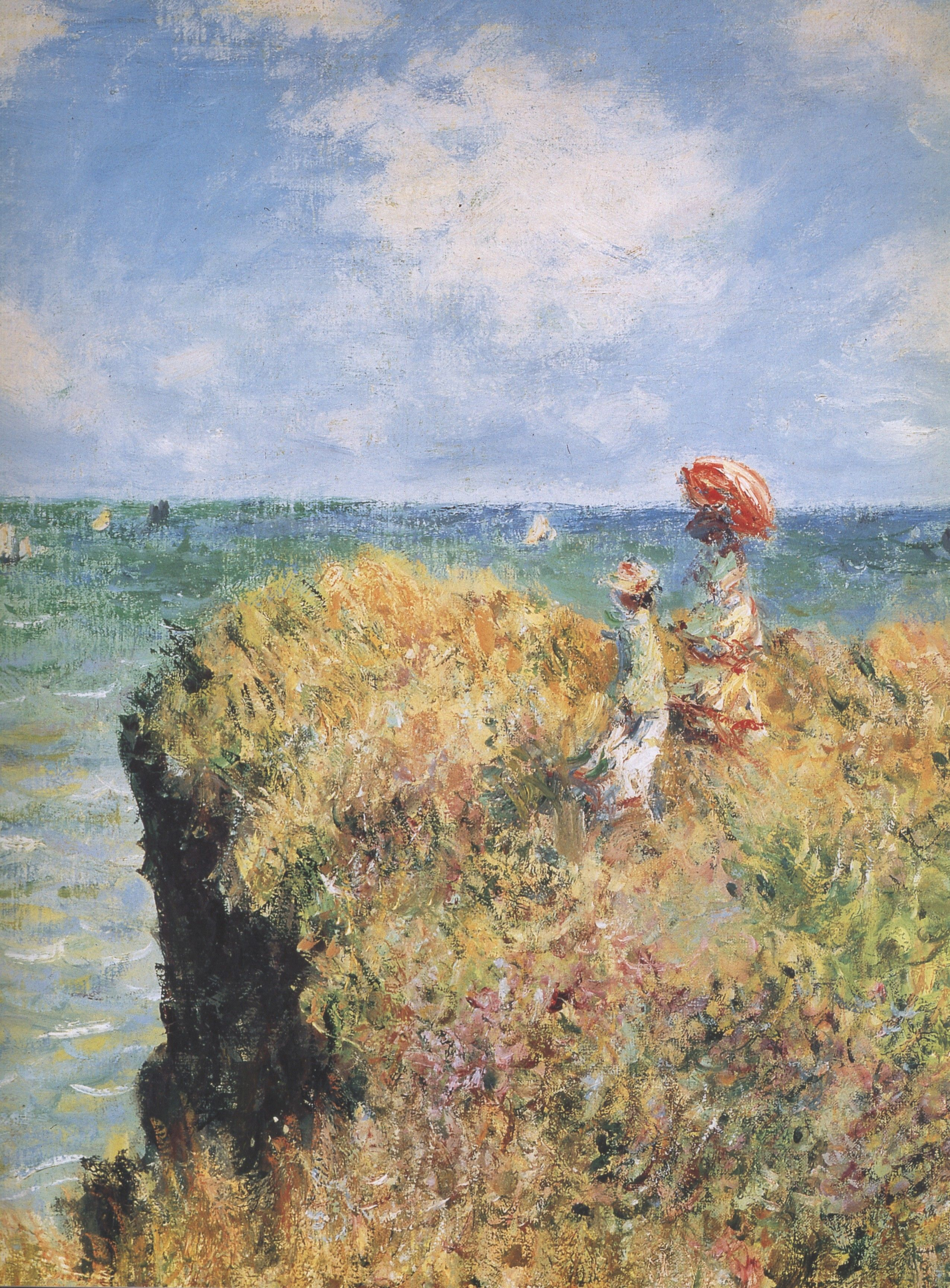 Claude Monet Painting I Love The Sky In It Reminds Me Of