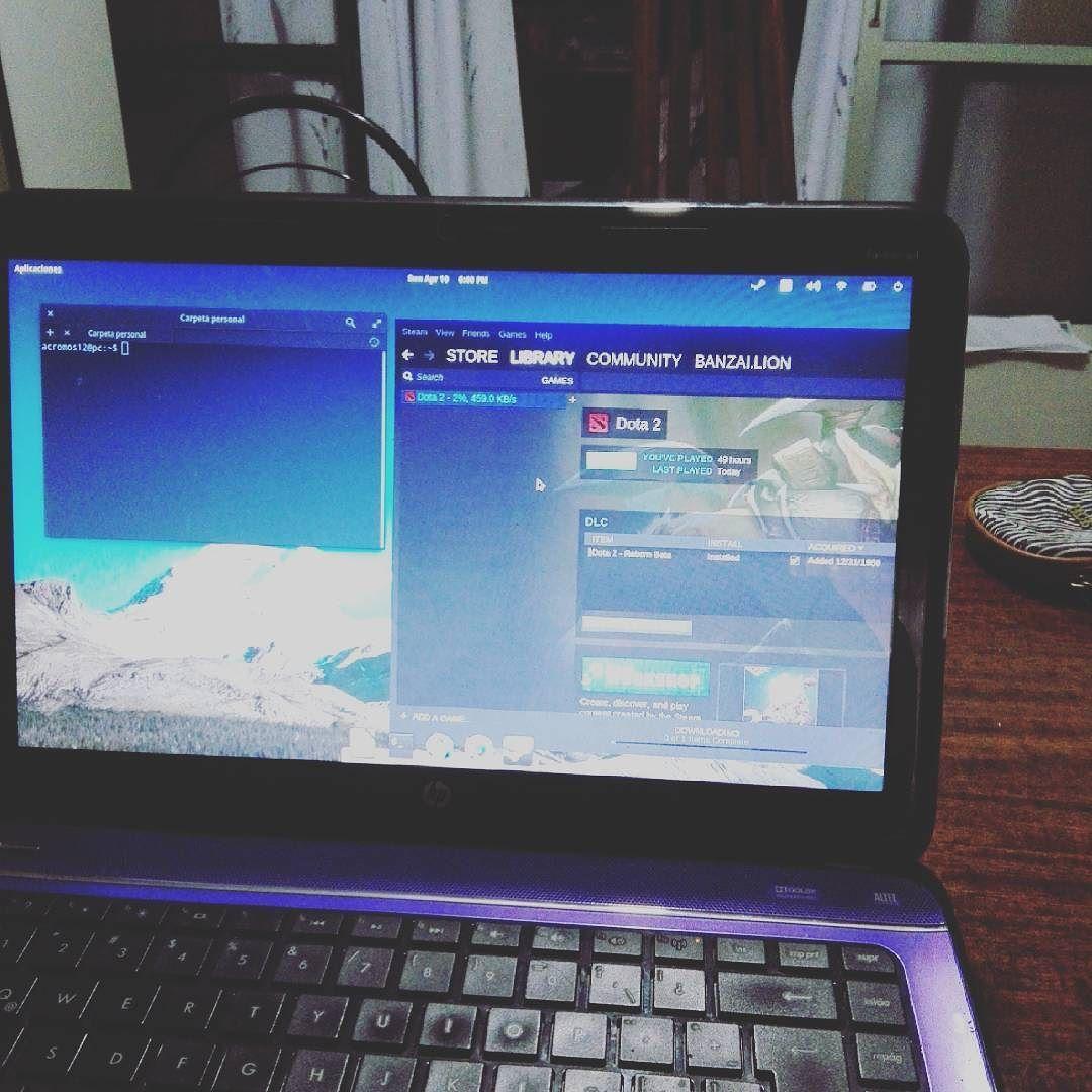 Todo gracias al software libre viva linux #elementaryos  #linux #distro  #terminal  vamos por mi.certifiicacion by pcastro3