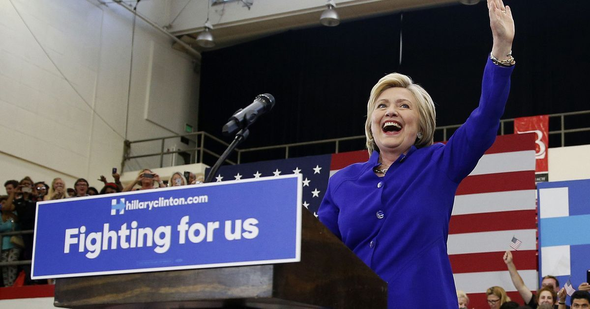 It's not just that Clinton is on the cusp of becoming the first woman to be a presidential nominee — it's that she did it despite truly ugly odds.