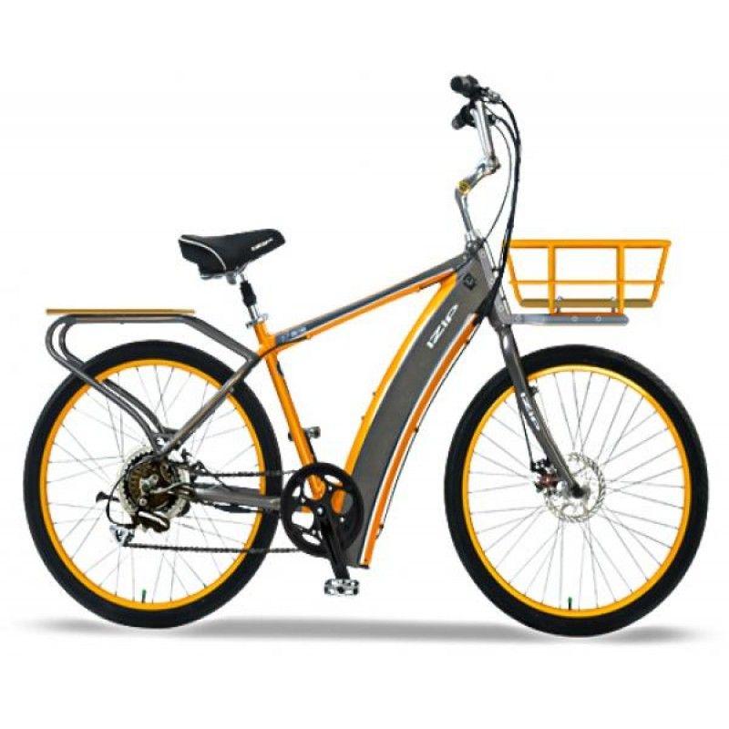 Currie Izip E3 Metro Grey Orange Electric Bicycle Folding Electric Bike Bicycle