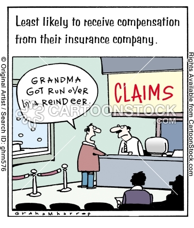 Grandma Did Get Run Over By A Reindeer Thanksgiving Cartoon Funny Cartoons Get Running