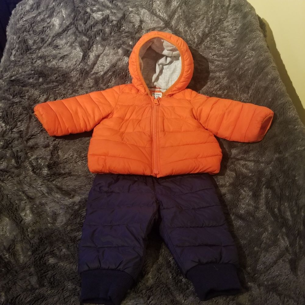 Baby Gap Boy Winter Jacket And Snow Pants Size 6 12 Months Pants Never Worn Fashion Clothing Shoes Accesso With Images Boys Winter Jackets Baby Gap Boy Winter Jackets