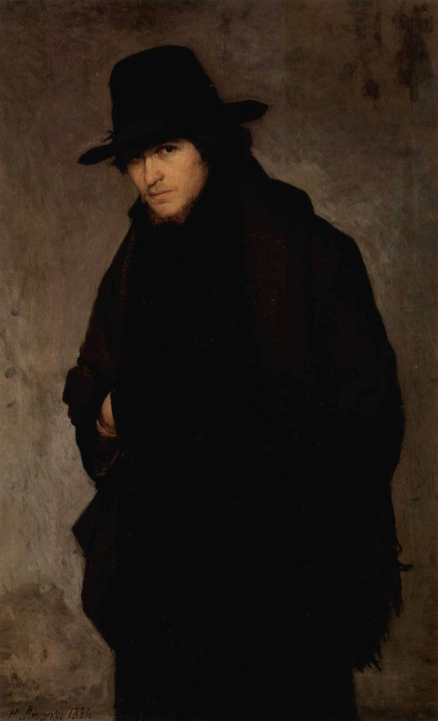 The Student, (1881). Nikolai Alexandrovich Yaroshenko (1846 - 1898).