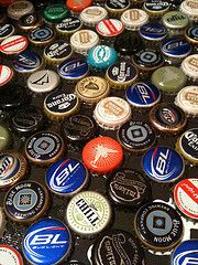 Bottlecap Magnet Board