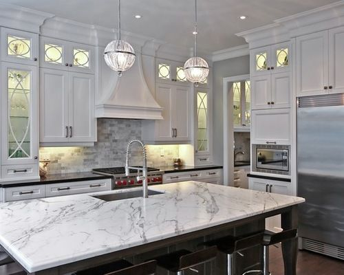 White Kitchen Cabinets With Gray Granite Countertops Grey Granite Countertops White Granite Countertops Grey Countertops