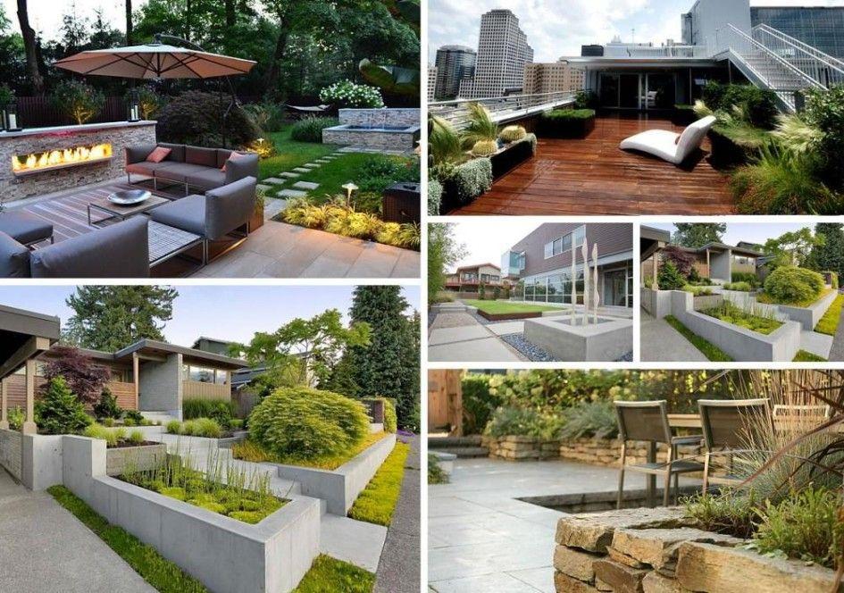 Stunning front garden design ideas pictures  Modern Garden Design - diseo de jardines urbanos