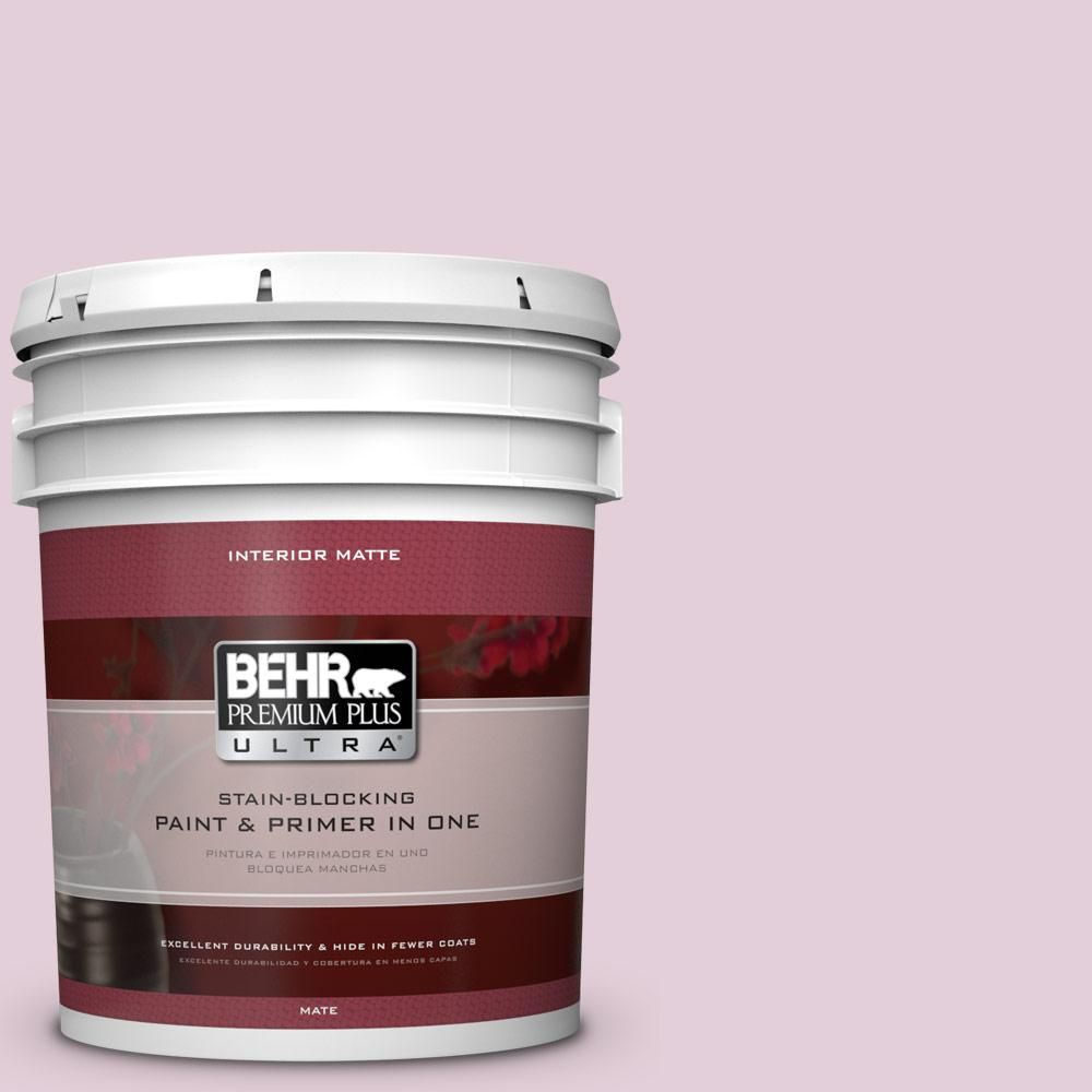 Ordinaire BEHR Premium Plus Ultra 5 Gal. #S120 2 Etiquette Matte Interior Paint