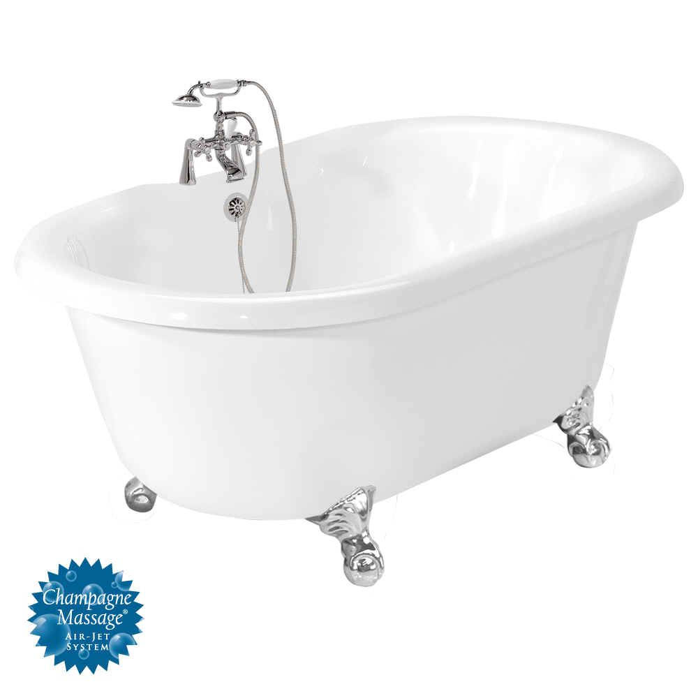 Bathtubs With Jets | Home > Air Jet Bathtubs > 60 Inch Bathtub with ...