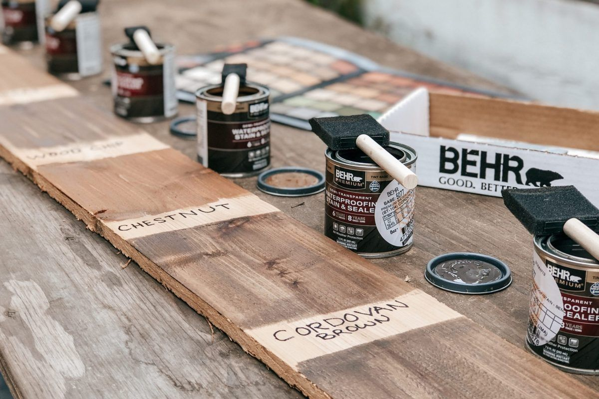 pin on horizontal fence on behr paint comparison chart id=76526