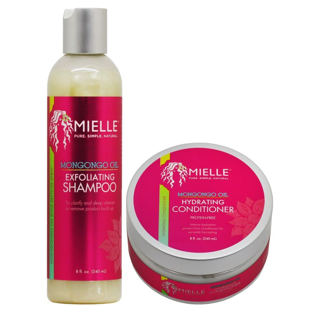 Mielle organics mongongo oil ounce shampoo u conditioner duo
