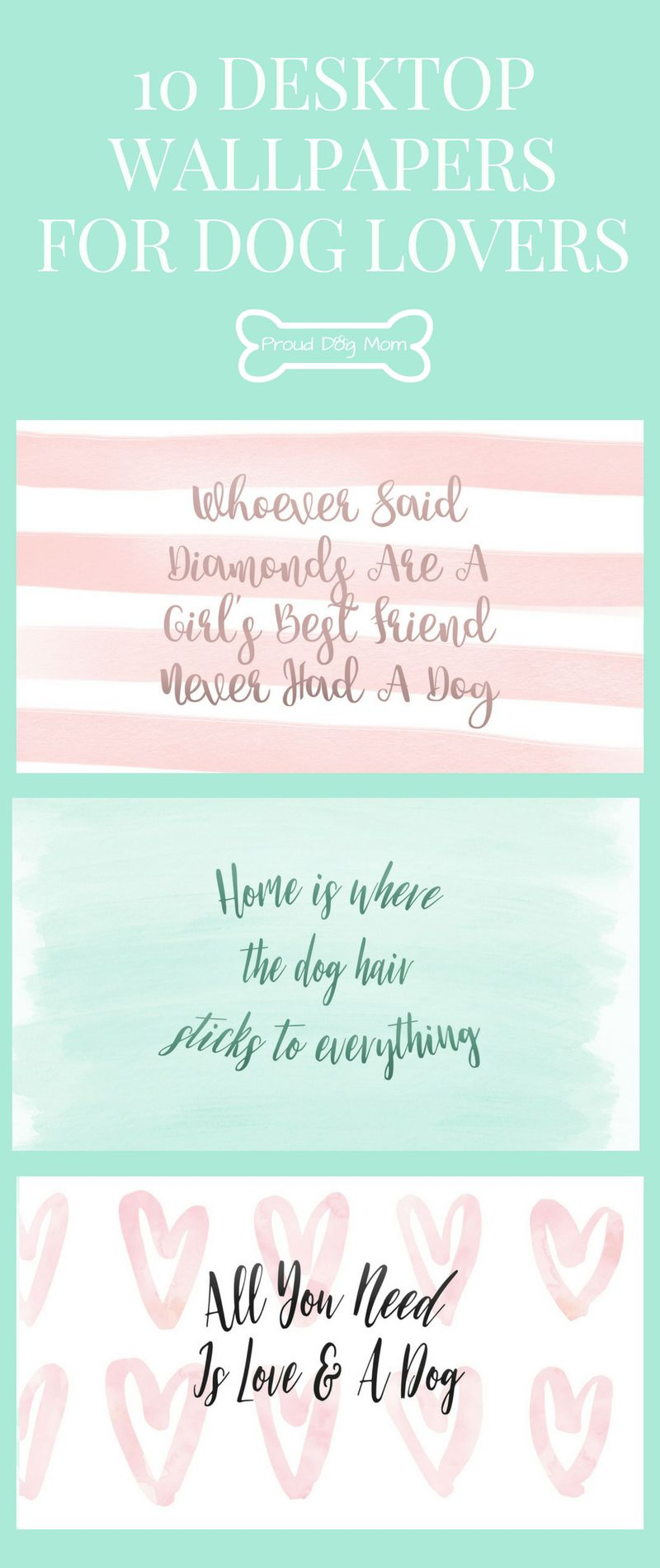 Free Download 10 Desktop Wallpapers For Dog Lovers Dog Mommy Dog Lovers Puppy Gifts