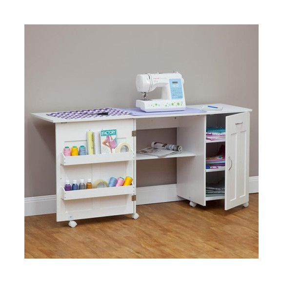 Dealsdirect Mobile Craft Desk Or Sewing Machine Table Craft Desk Sewing Machine Table Mobile Craft