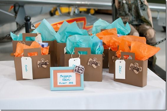 BAGGAGE CLAIM Airplane Party Favors Dallas Party Planner