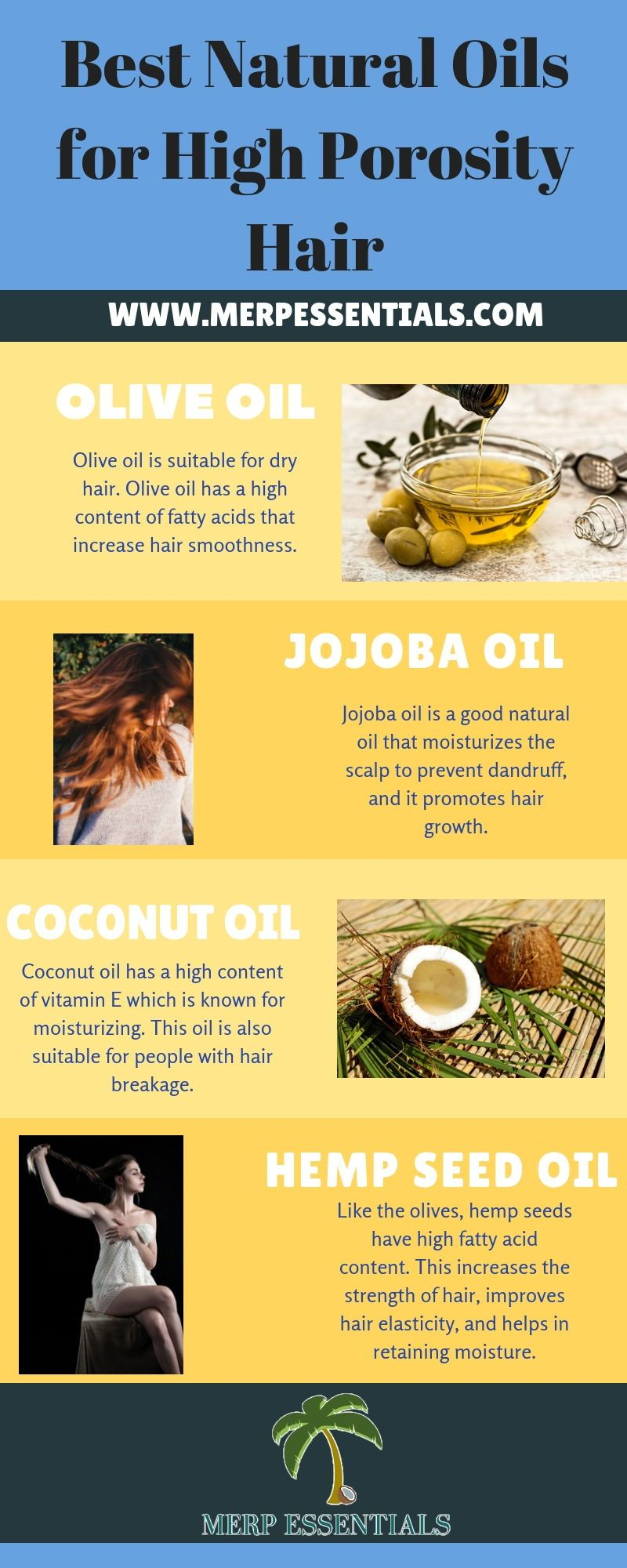 The Hair Porosity Test: Best Hair Tips For Healthy Hair #jojobaoil