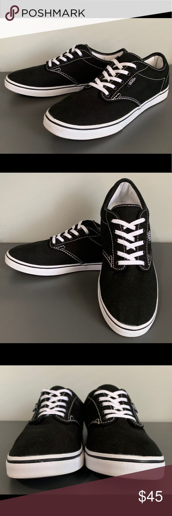 vans atwood nere donna