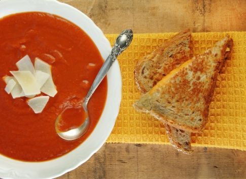 Cheap meal idea: Quick tuna melts. All you need: whole wheat breat, tuna, shredded cheese of your choice & butter. Optional: serve with tomato soup or some baby carrots.