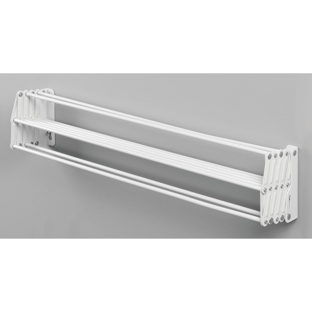 Wall Mount Accordion Laundry Clothes Drying Rack Clothes Drying Racks Drying Clothes Wall Mounted Clothes Drying Rack