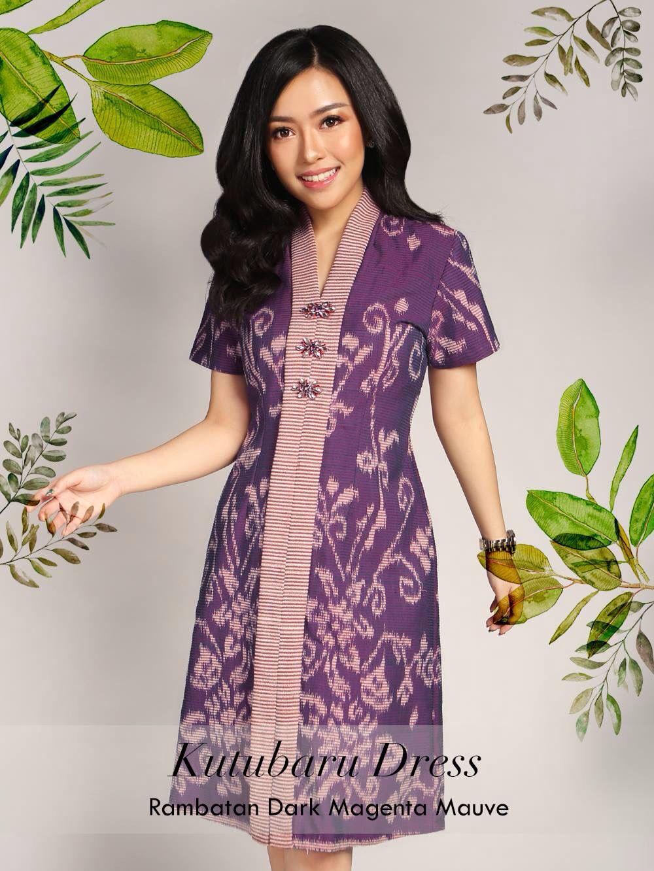 Pin By Cynthia Na On Batik Batik Fashion Model Dress