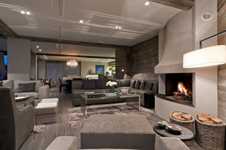 Chalet confortable et moderne avec cheminée  sélection des