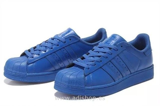 new style c7de7 33325 Azules - Adidas Superstar Supercolor Zapatillas Para Mujer (Adidas Super  Star)…
