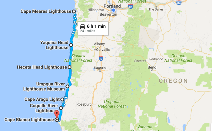 Unforgettable Road Trips To Take In Oregon Before You Die - Oregon road maps