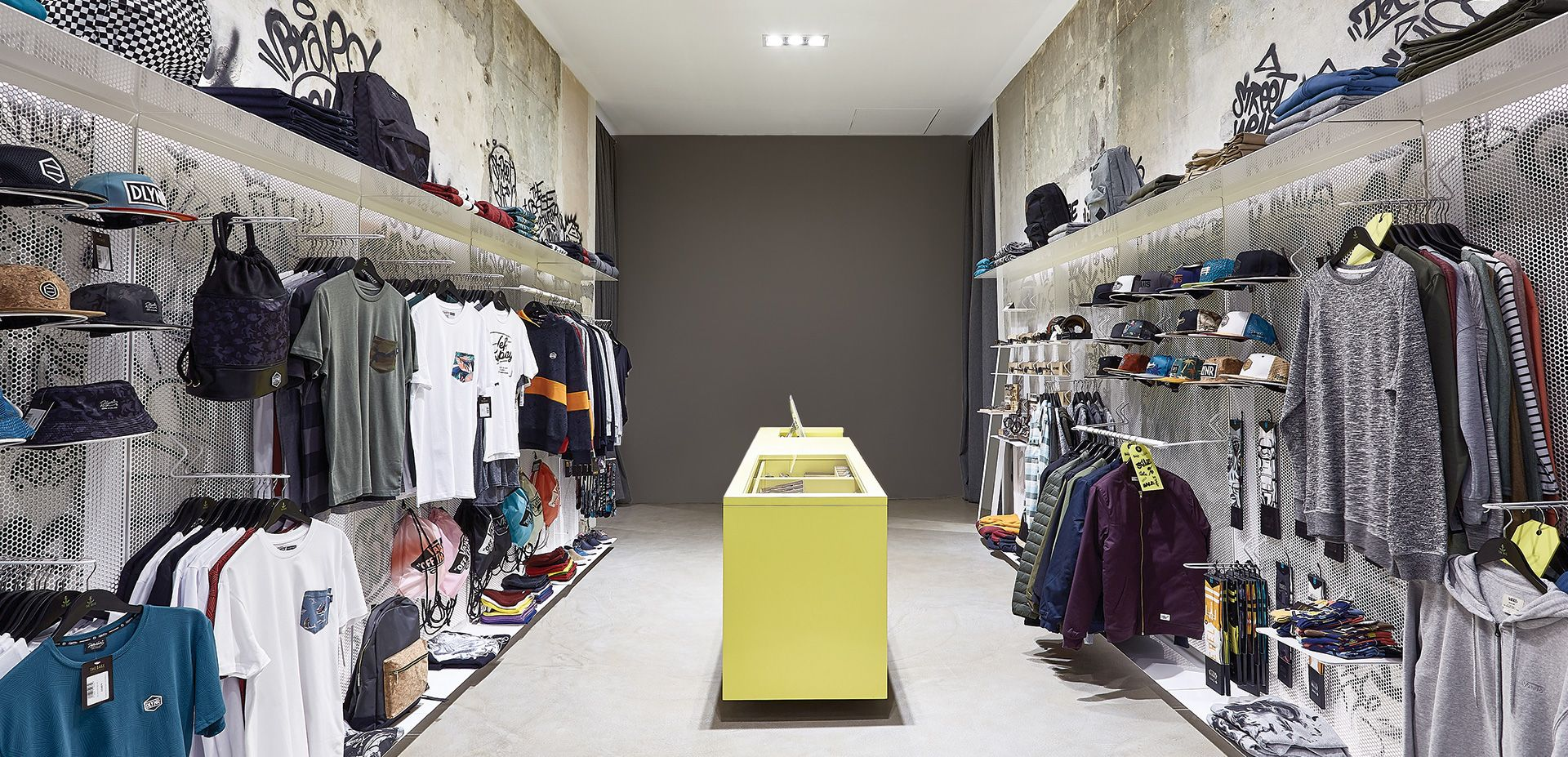 new product d6d53 fa9c6 THE BASE STREETWEAR SHOP - POSITION Collective   Interiors ...