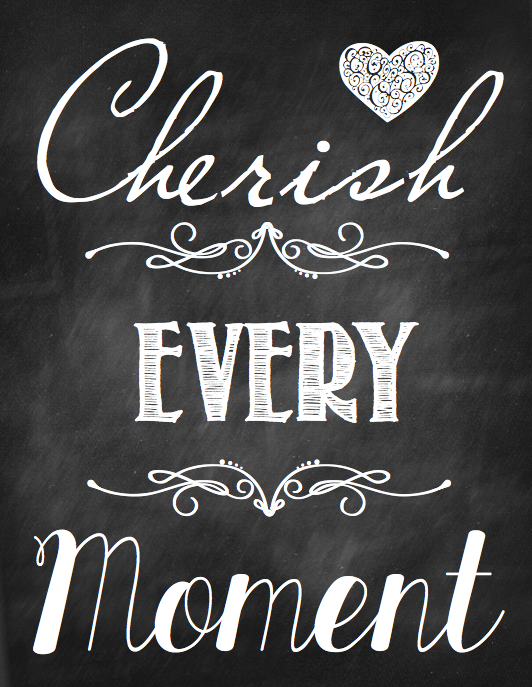Cherish Your Life Quotes Adorable Let's Cherish Every Moment In 2014 Graphic From One Good Thing.