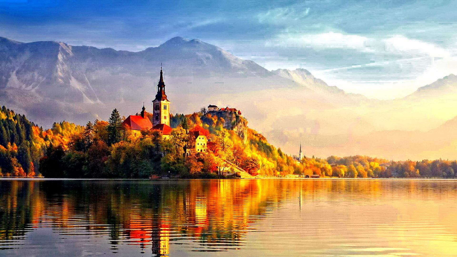 Beautiful Autumn Beautiful Autumn Castle Wallpapers