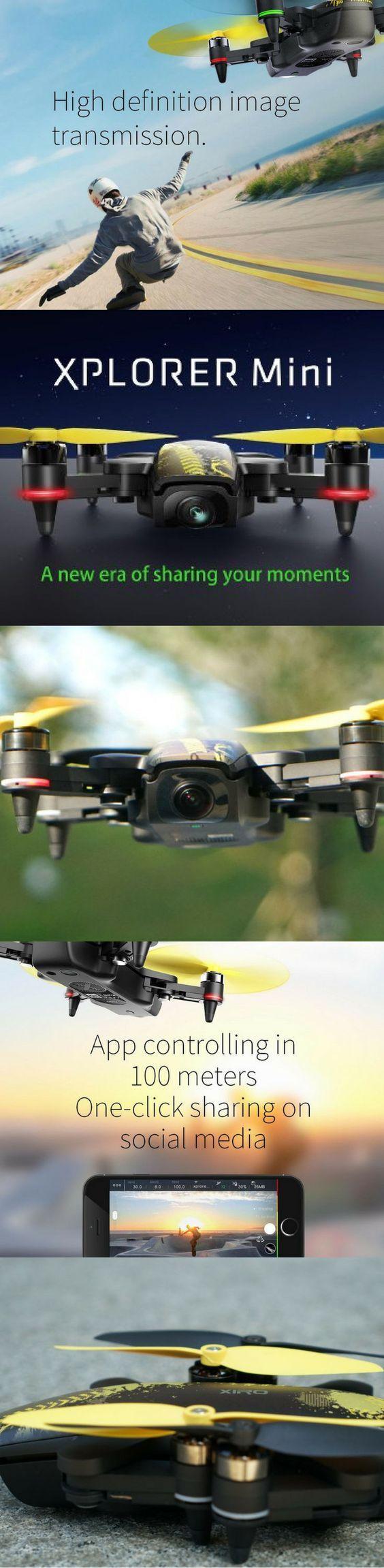 Xiro Xplorer Mini -The Perfect Selfie Drone   Drone   Small