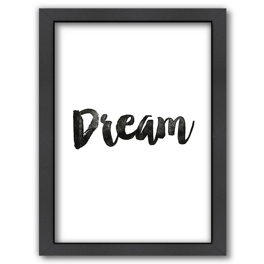 Americanflat dream framed wall art framed wall art and products