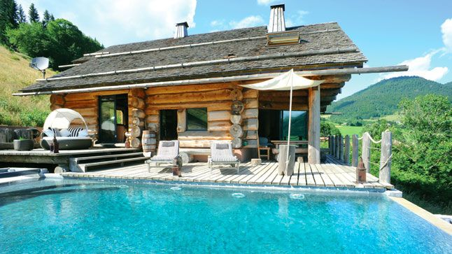 Un chalet en Haute-Savoie, France Playhouses and Inspiration - tva construction maison neuve