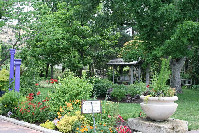 The Idaho Botanical Gardens. Photo taken by the Boise