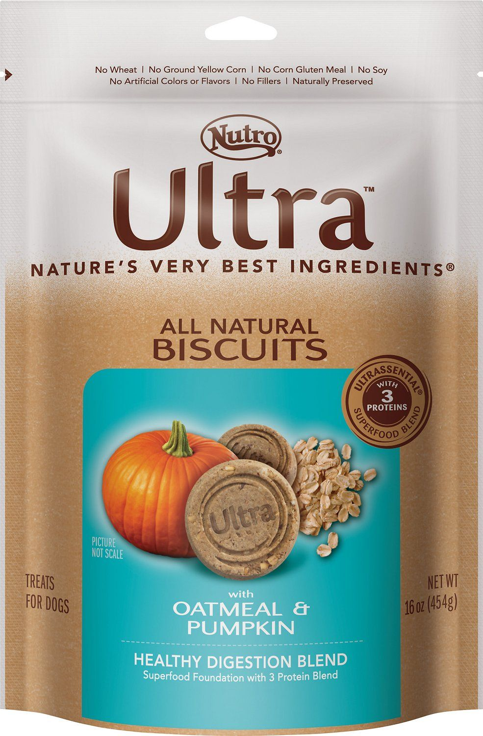 Nutro Ultra All-Natural Biscuits are made with super ...