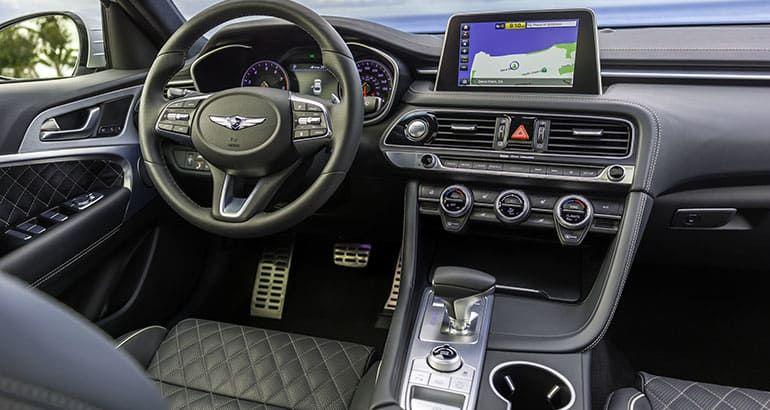2019 Genesis G70 Offers Luxury And Value In A Crowded Segment Luxury Sedan Genesis Fancy Cars