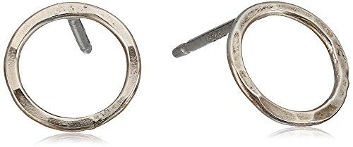 Melissa Joy Manning Sterling Silver Round Post Earrings ** More info could be found at the image url.