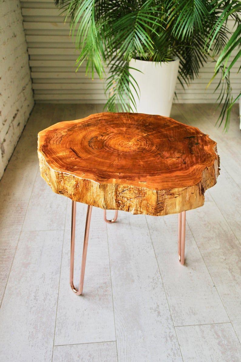 Tree Slice Coffee Table Round Live Edge Coffee Table Corner Etsy Live Edge Coffee Table Coffee Table Wood Mid Century Modern Coffee Table [ 1191 x 794 Pixel ]