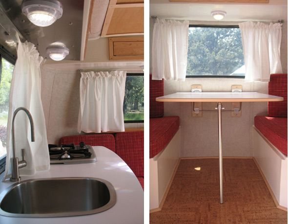 Trailers For Sale Calgary >> Cutest fiberglass trailer restoration by The Eggplant ...