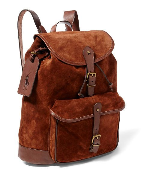 f8502633ba Suede Backpack - Polo Ralph Lauren New Arrivals - RalphLauren.com ...