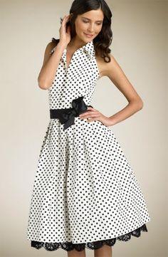 91a900192e vestidos de bolitas - Buscar con Google Vestidos Casuales De Dia