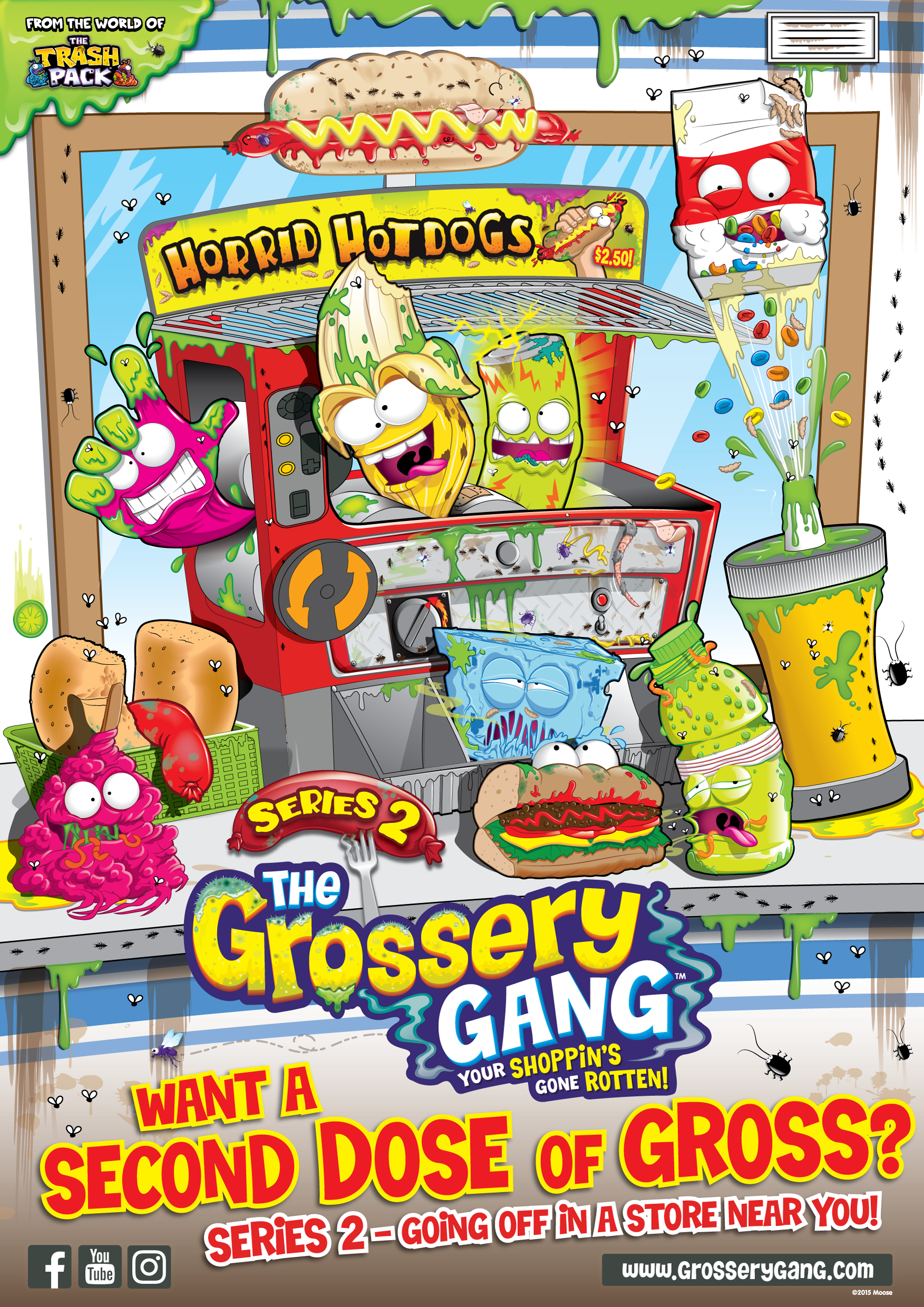 The Grossery Gang is Grosser than Ever Before! | A Grande Life Blog ...