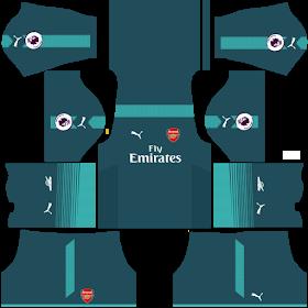 54b82ddea26 Kits Uniformes para FTS 15 y Dream League Soccer  Kits Uniformes Arsenal -