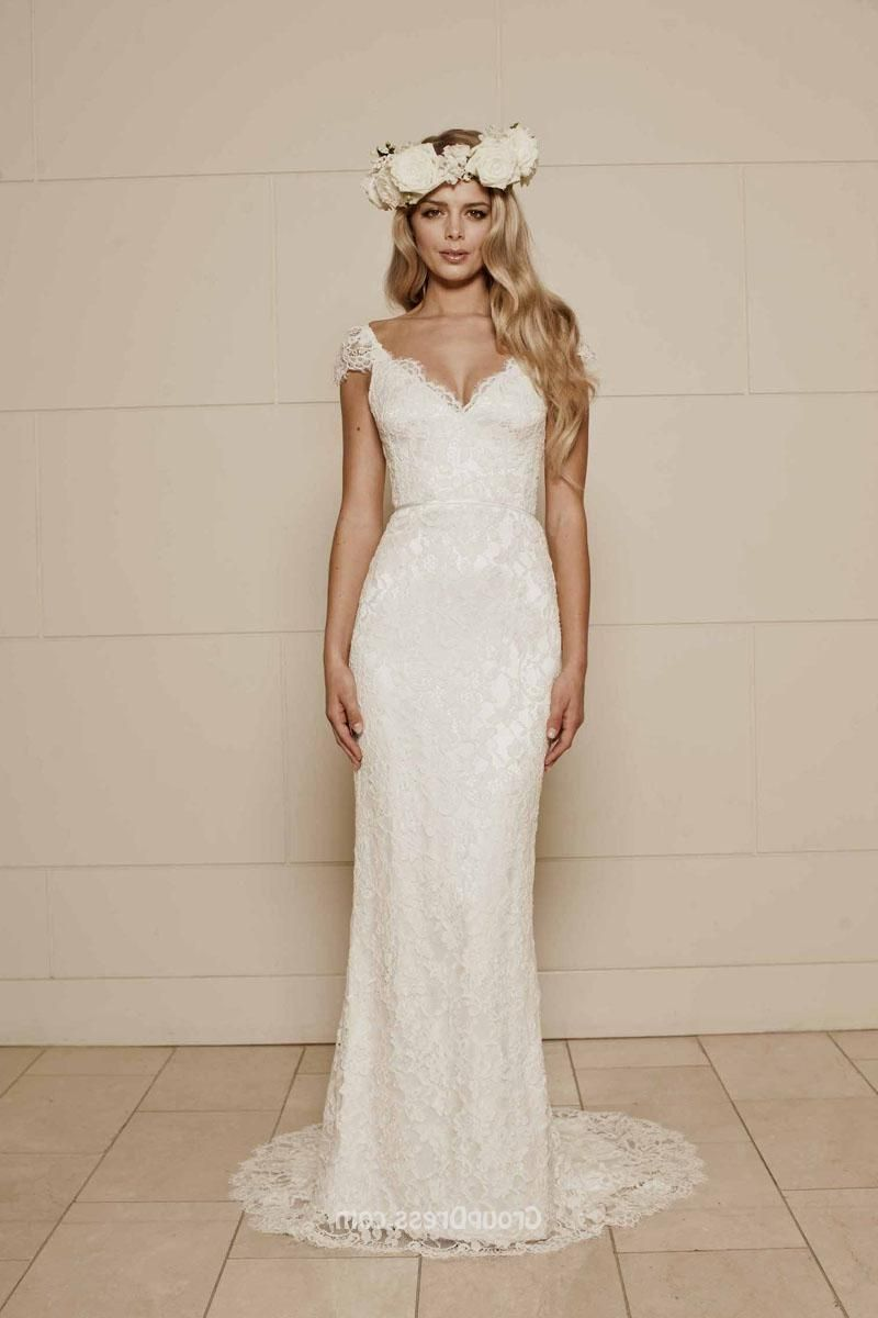 2019 Lace Simple Wedding Dresses - Dresses for Wedding Party Check ...