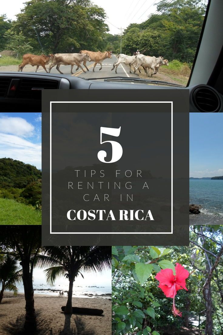 Tips for renting and driving through Costa Rica. #budgettraveler#costarica