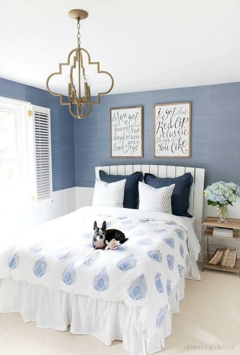 40 Cool Blue And White Bedroom Design Ideas White Bedroom Decor