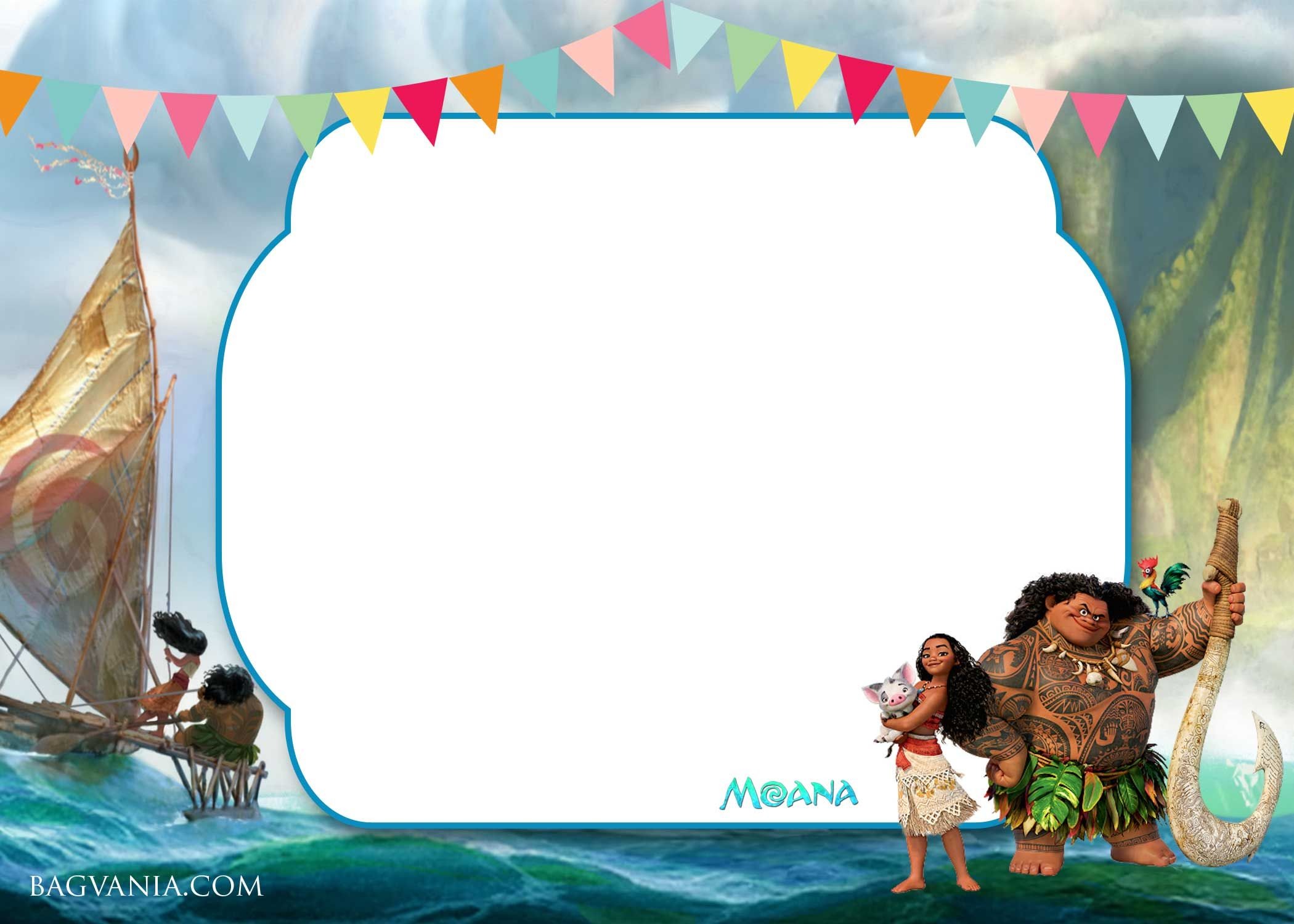 free printable camo baby shower invitations templates%0A Download Now FREE Printable Little Moana Birthday and Baby Shower Invitation