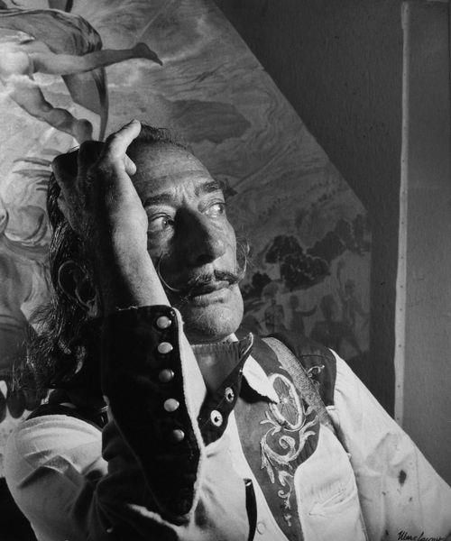 Salvador Dali by Marc Lacroix, c. 1970 http://media-cache4.pinterest.com/upload/135459901262037596_JroFjwhC_f.jpg tinman musicians designers painters and writers