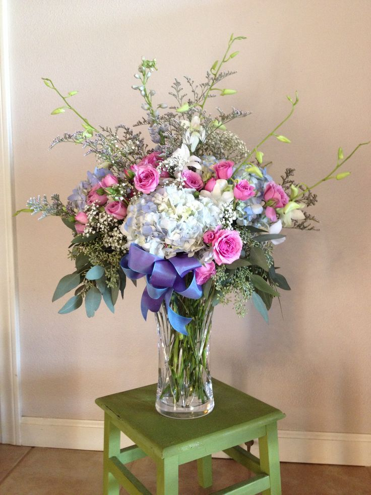Largevaseflowerarrangements Vase Arrangements Wedding Ideas