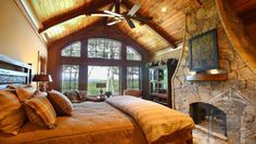 I love the rustic style