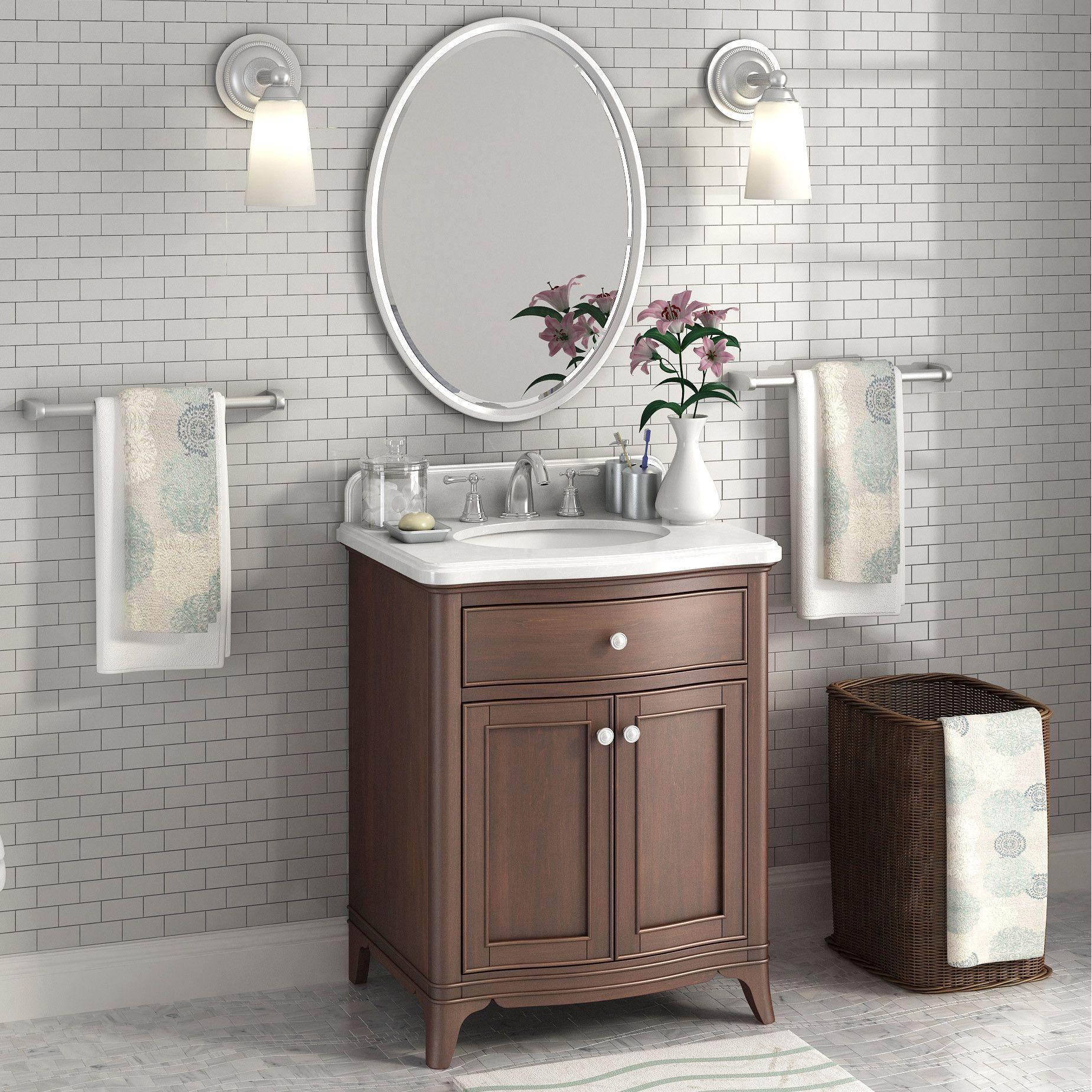 Florence 28 Single Sink Marble Top Vanity By Lanza Marble Vanity Tops